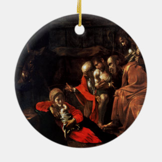 Adoration of the Shepherds by Caravaggio (1609) Ornaments