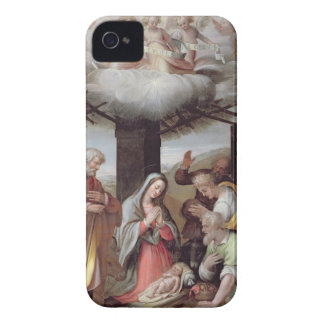Adoration of the Shepherds, c.1500 (tempera on pan iPhone 4 Cover