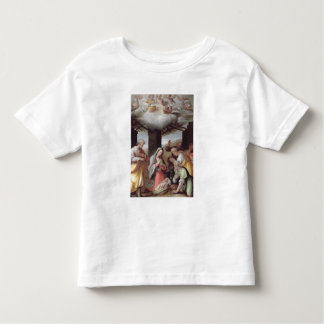 Adoration of the Shepherds, c.1500 (tempera on pan Toddler T-Shirt