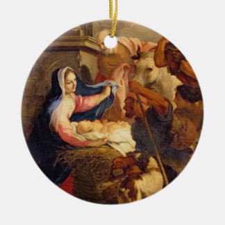 Adoration of the Shepherds Christmas Ornaments