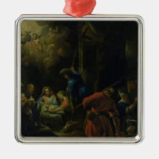 Adoration of the Shepherds Christmas Tree Ornament
