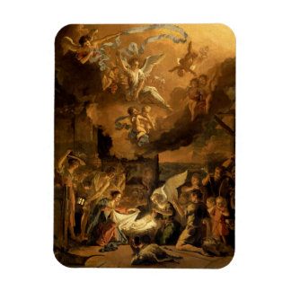 Adoration of the Shepherds Fine Art Christmas Magnet