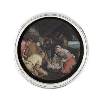 Adoration of the Shepherds Lapel Pin