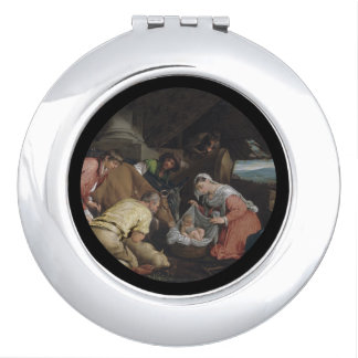 Adoration of the Shepherds Makeup Mirror