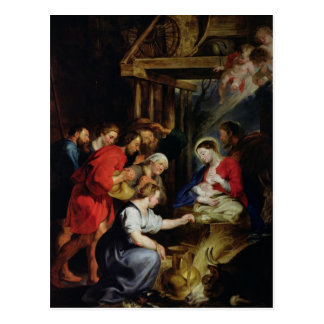 Adoration of the Shepherds Postcard