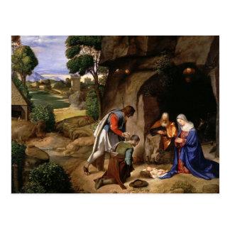 Adoration of the Shepherds Postcard
