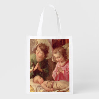 Adoration of the Shepherds Reusable Grocery Bag