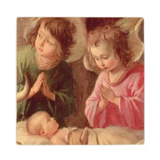 Adoration of the Shepherds Wood Coaster