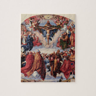 Adoration of the Trinity by Albrecht Durer, 1511 Jigsaw Puzzle