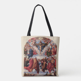 Adoration of the Trinity by Albrecht Durer, 1511 Tote Bag