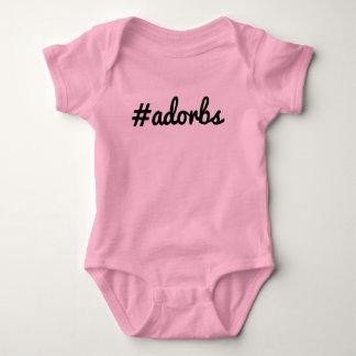 #Adorbs Baby Bodysuit