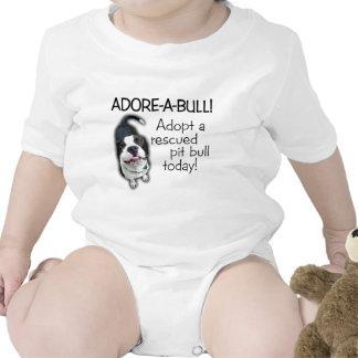 Adore-A-Bull Pit Bull! T Shirts
