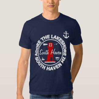Adore The Lakeshore - South Haven T Shirts