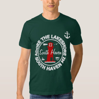 Adore The Lakeshore - South Haven Tee Shirt