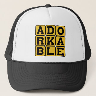 Adorkable, Adorable Dork Trucker Hat