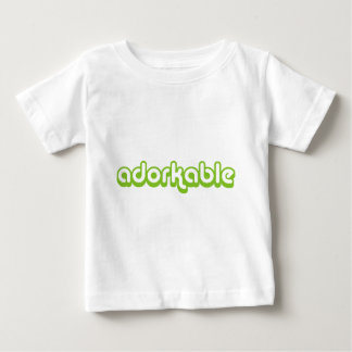 Adorkable (green) tee shirt