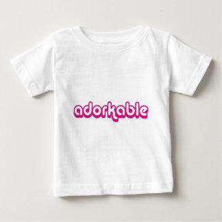 Adorkable (pink) tee shirt