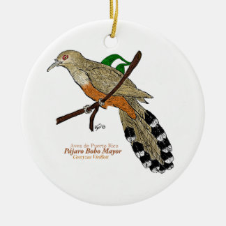 Adorno Pájaro Bobo Mayor Christmas Tree Ornaments