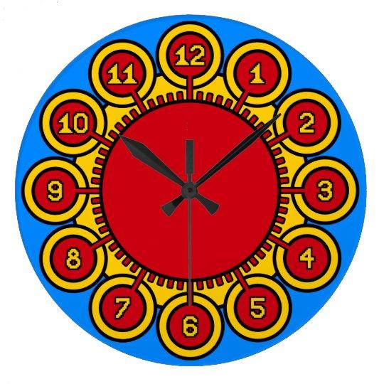 ADoS Solar Flower Large Clock