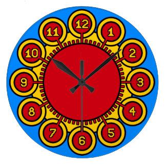 ADoS Solar Flower Wall Clock