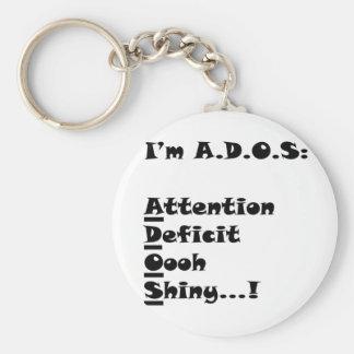 ADOSRectangle Key Ring