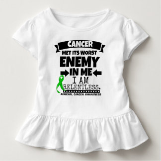 Adrenal Cancer Met Its Worst Enemy in Me Toddler T-Shirt