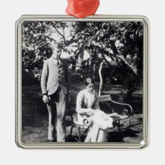 Adrian and Virginia Stephen, 1900 Christmas Ornament