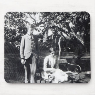 Adrian and Virginia Stephen, 1900 Mouse Mat