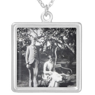 Adrian and Virginia Stephen, 1900 Silver Plated Necklace
