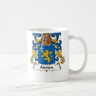 Adrien Family Crest Basic White Mug