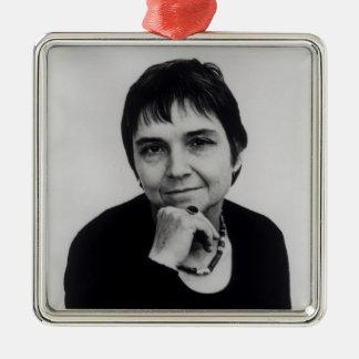 Adrienne Cecile Rich 1970s Ornament