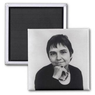 Adrienne Cecile Rich , 1970s Square Magnet