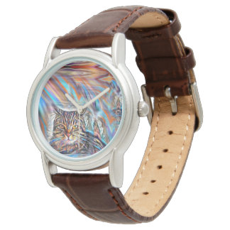 Adrift in Colors Tropical Sunset Cat Watch