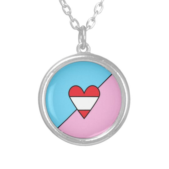 Adult Age Play Pride Flag Necklace