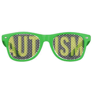 Adult Autism Awareness shades Green
