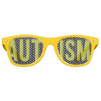 Adult Autism Awareness shades Yellow