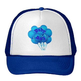 Adult Baby Boy Balloons Hats