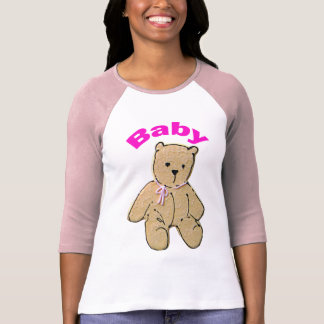 Adult Baby Girl Baby Bear T-Shirt