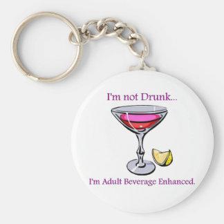 Adult Beverage Enhanced Key Ring