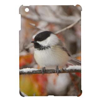 Adult Black-capped Chickadee in Snow, Grand iPad Mini Case