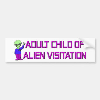 Adult Child Bumper Sticker