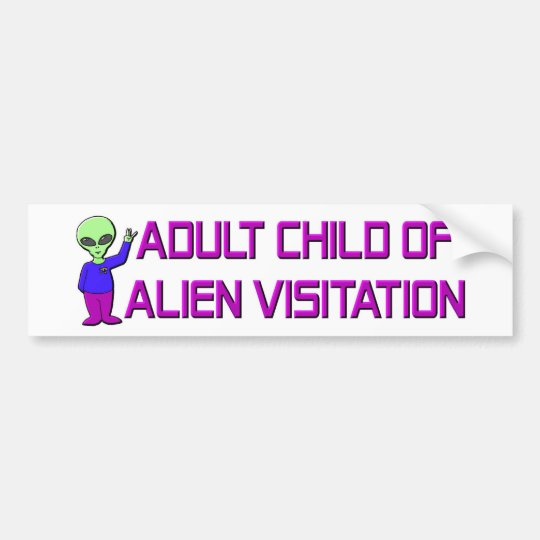 Adult Child Bumper Sticker