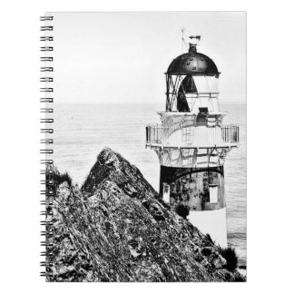 Adult Coloring: Lighthouse Scene Notebook