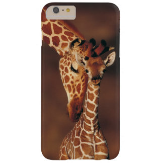 Adult Giraffe with calf (Giraffa camelopardalis) Barely There iPhone 6 Plus Case