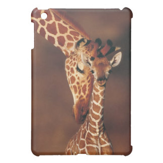 Adult Giraffe with calf (Giraffa camelopardalis) Case For The iPad Mini