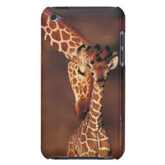 Adult Giraffe with calf (Giraffa camelopardalis) iPod Touch Case