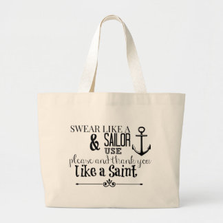 Adult Humor: Swear Like A Sailor Tote