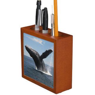 Adult Humpback Whale Breaching Desk Organiser