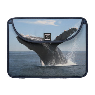 Adult Humpback Whale Breaching Sleeve For MacBook Pro