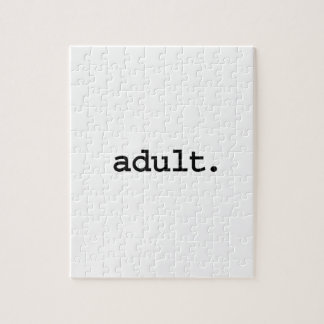 adult. jigsaw puzzle